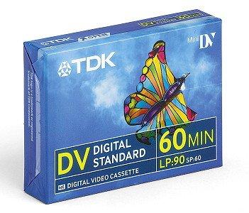 TDK DVM-60MEEA kazeta miniDV 60 MIN