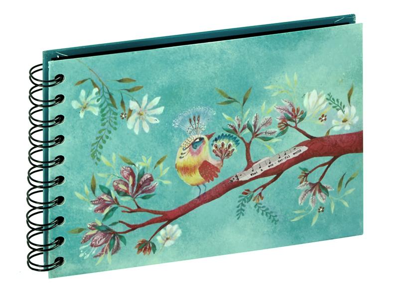 PANODIA ARTIST klasické/30 stran, 16x12, Oiseau