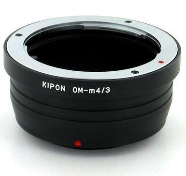 KIPON adaptér objektivu Olympus OM na tělo Olympus/Panasonic MFT