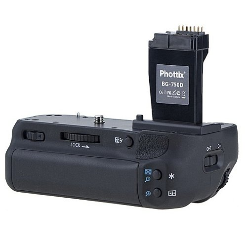 PHOTTIX Battery grip BG-750D pro Canon EOS 750/760D