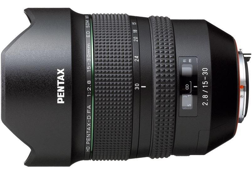 PENTAX 15-30 mm f/2,8 HD D-FA ED SDM WR