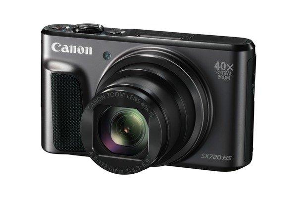 CANON PowerShot SX720 HS černý + získejte zpět 1000 Kč