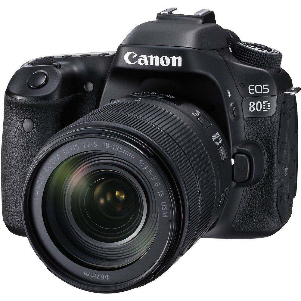 CANON EOS 80D + EF-S 18-135 IS USM + Cashback 2500 Kč