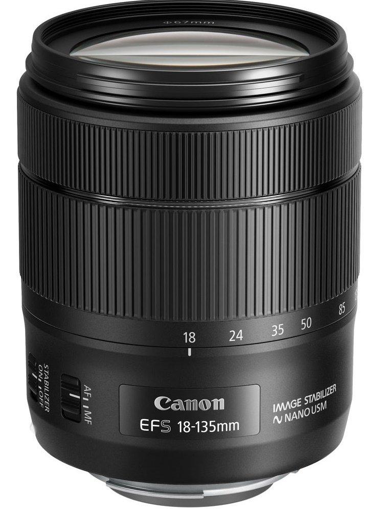 CANON EF-S 18-135 mm f/3,5-5,6 IS NANO USM + Cashback 1600 Kč