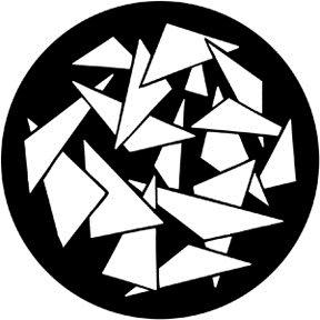 GOBO maska 79076 Triangles 2