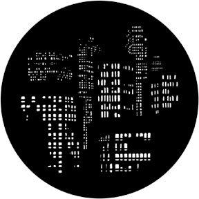 GOBO maska 77786 City Lights