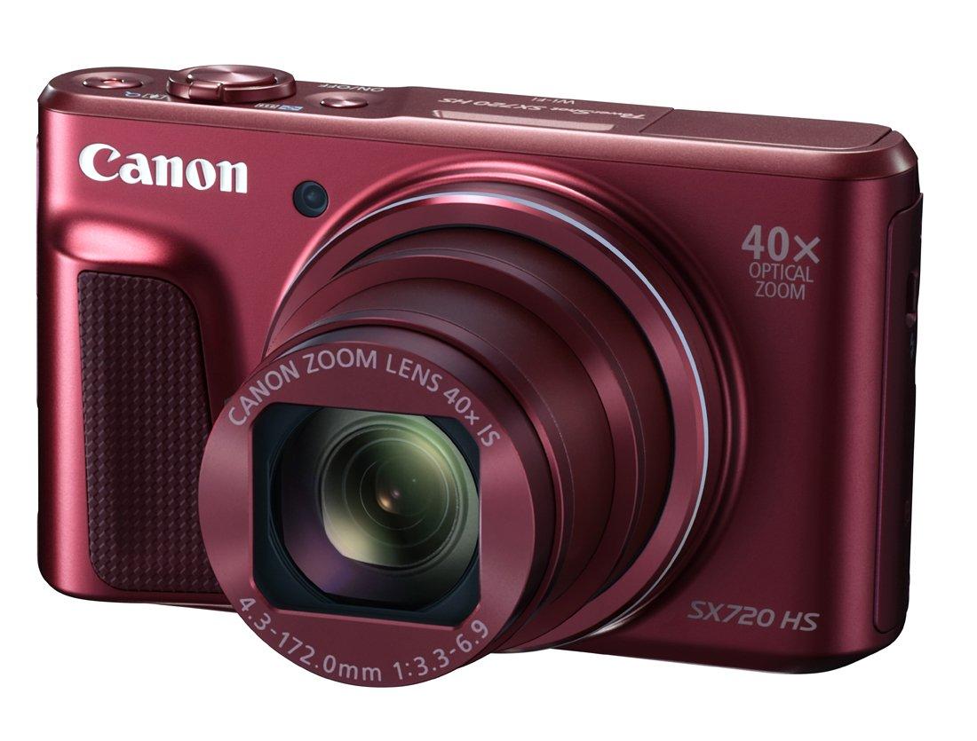 CANON PowerShot SX720 HS červený + získejte zpět 1000Kč