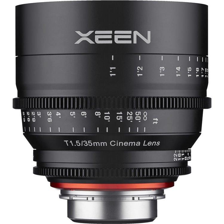 XEEN 35 mm T1,5 Cine pro MFT