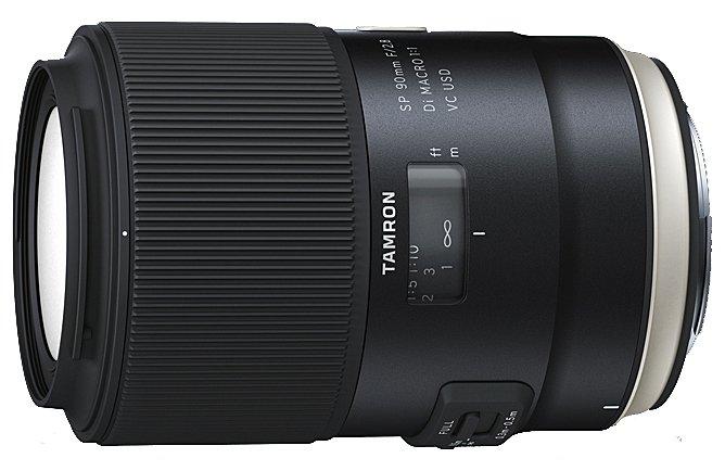 TAMRON 90 mm f/2,8 SP Di Macro VC USD II pro Canon