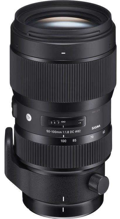 SIGMA 50-100 mm f/1,8 DC HSM Art pro Canon