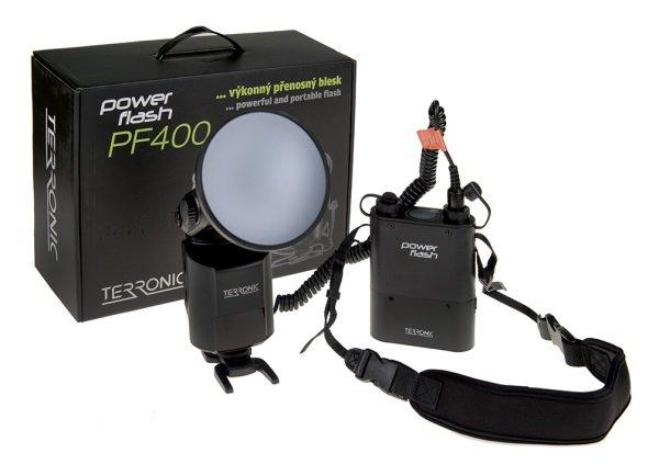 TERRONIC Power Flash PF400 - blesk s generátorem