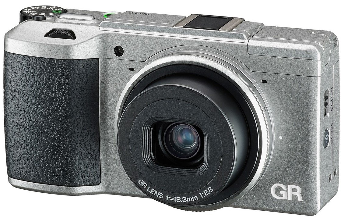 RICOH GR II Silver Limited Edition