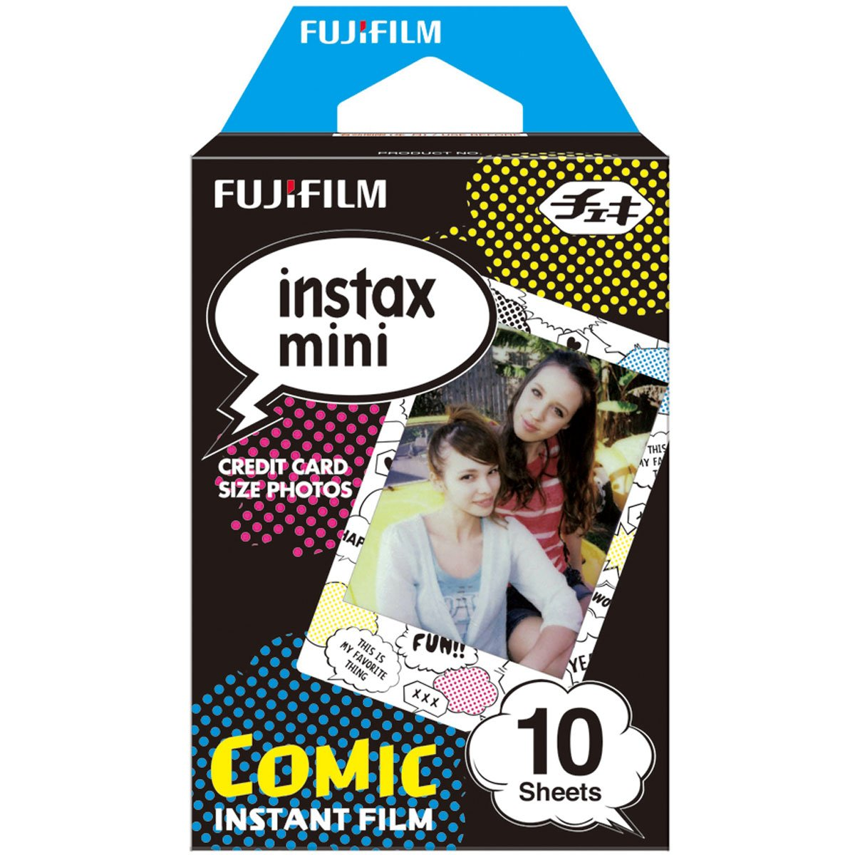 FUJIFILM INSTAX COLORFILM MINI GLOSSY COMIC