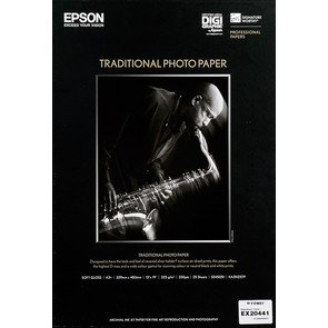 EPSON Traditional Photo Paper A3+/25