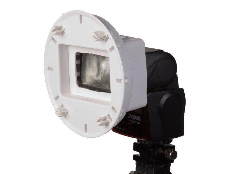 FOMEI AC-5 adaptér pro Canon 430EX, Nikon SB700, Metz 44/52/58 AF-1, Sony F42/56
