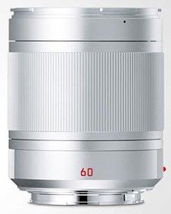 LEICA TL 60 mm f/2,8 Asph. APO-Macro-Elmarit-TL stříbrný