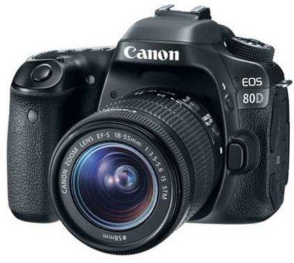 CANON EOS 80D + EF-S 18-55 IS STM + Cashback 2500 Kč