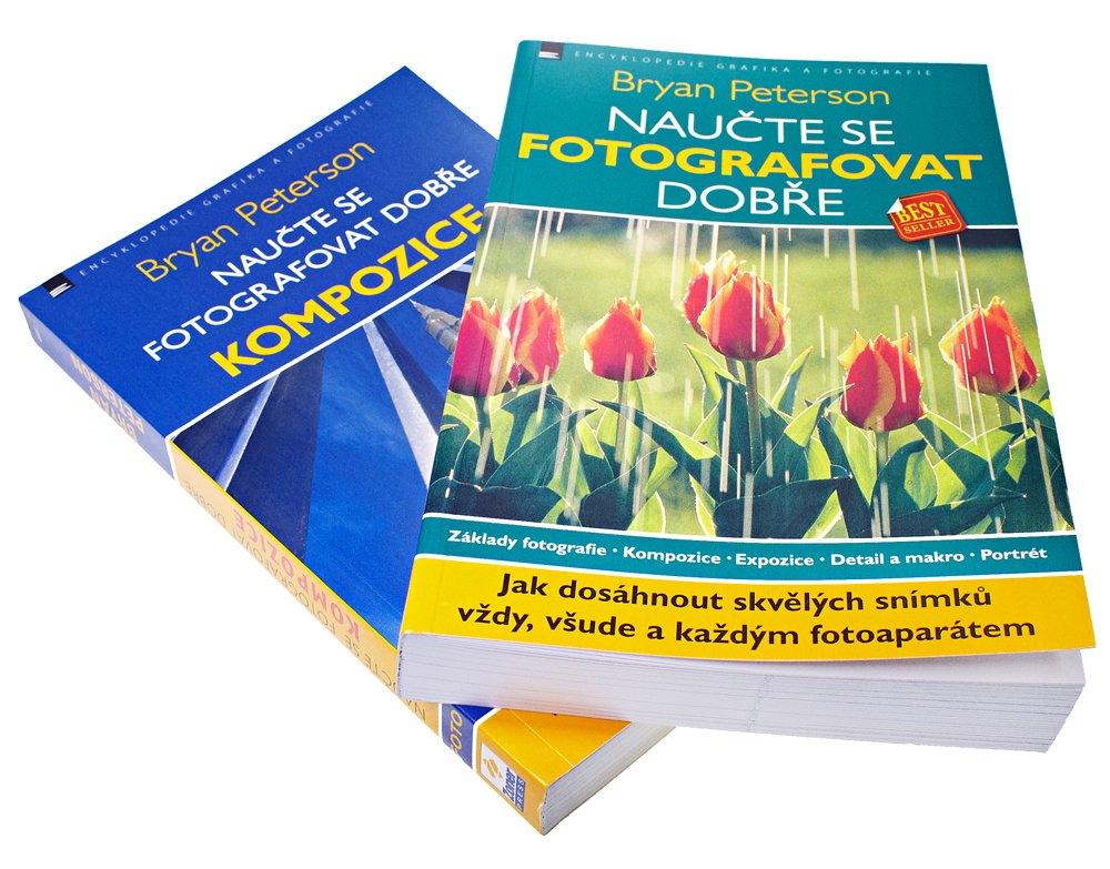 Bryan Peterson – exkluzivní balíček dvou knih pro fotografy