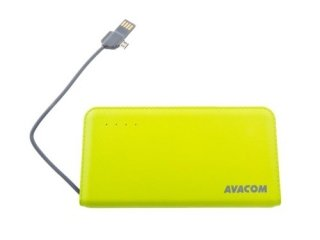 AVACOM PowerBank 6000 mAh 5V/2,1A zelená
