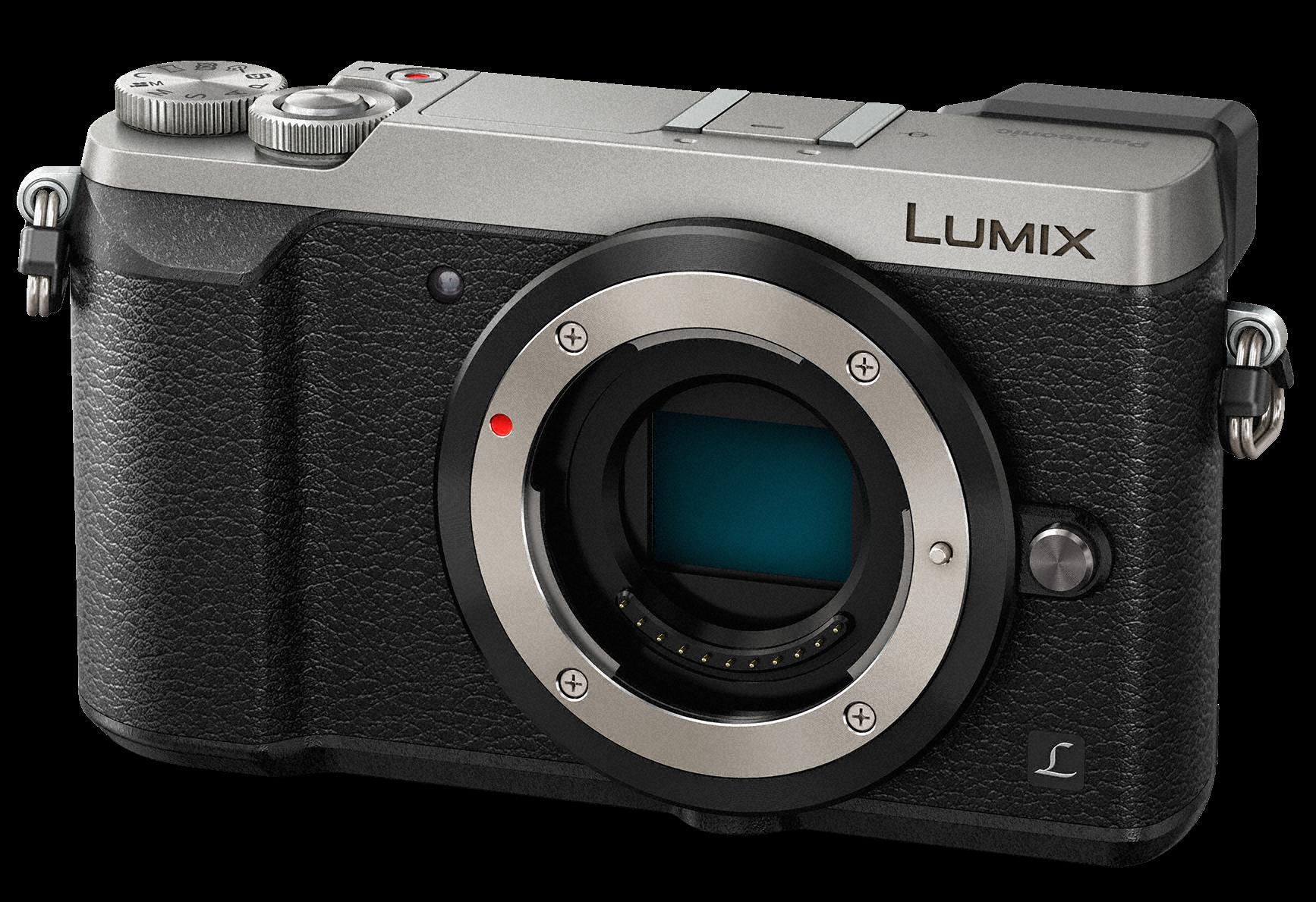 PANASONIC Lumix DMC-GX80 tělo stříbrný + získejte zpět 950Kč