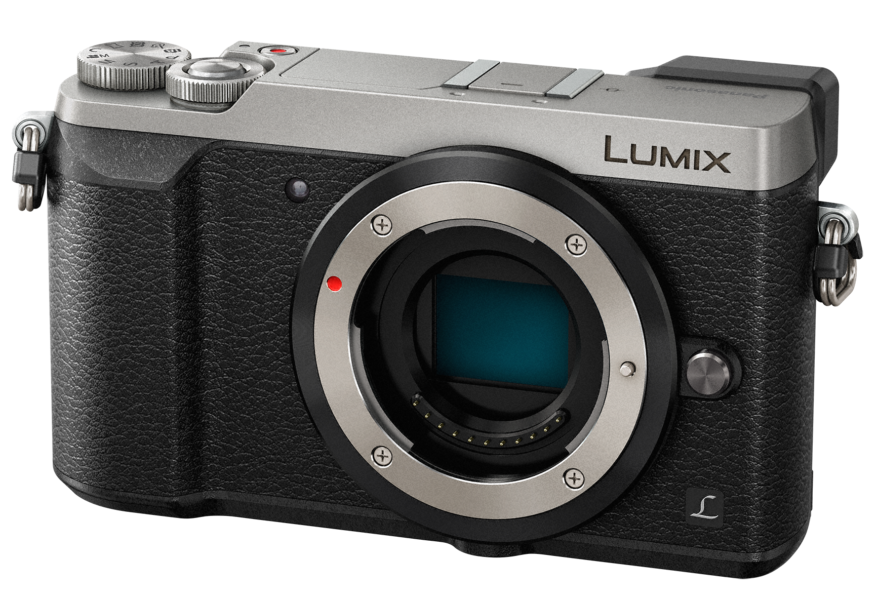 PANASONIC Lumix DMC-GX80 tělo stříbrný
