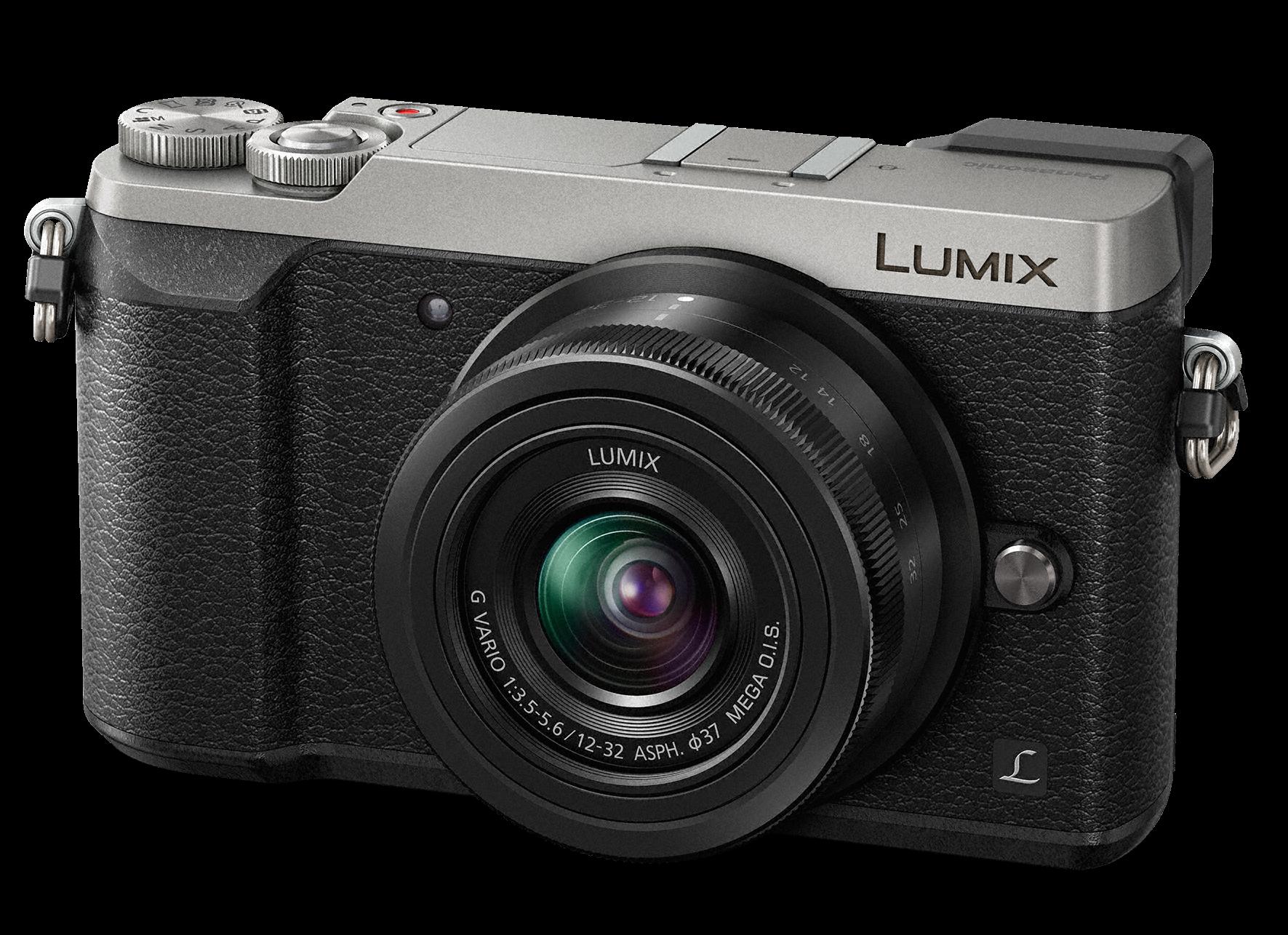 PANASONIC Lumix DMC-GX80 + 12-32mm stříbrný + SDHC16GB + získejte zpět 1000Kč