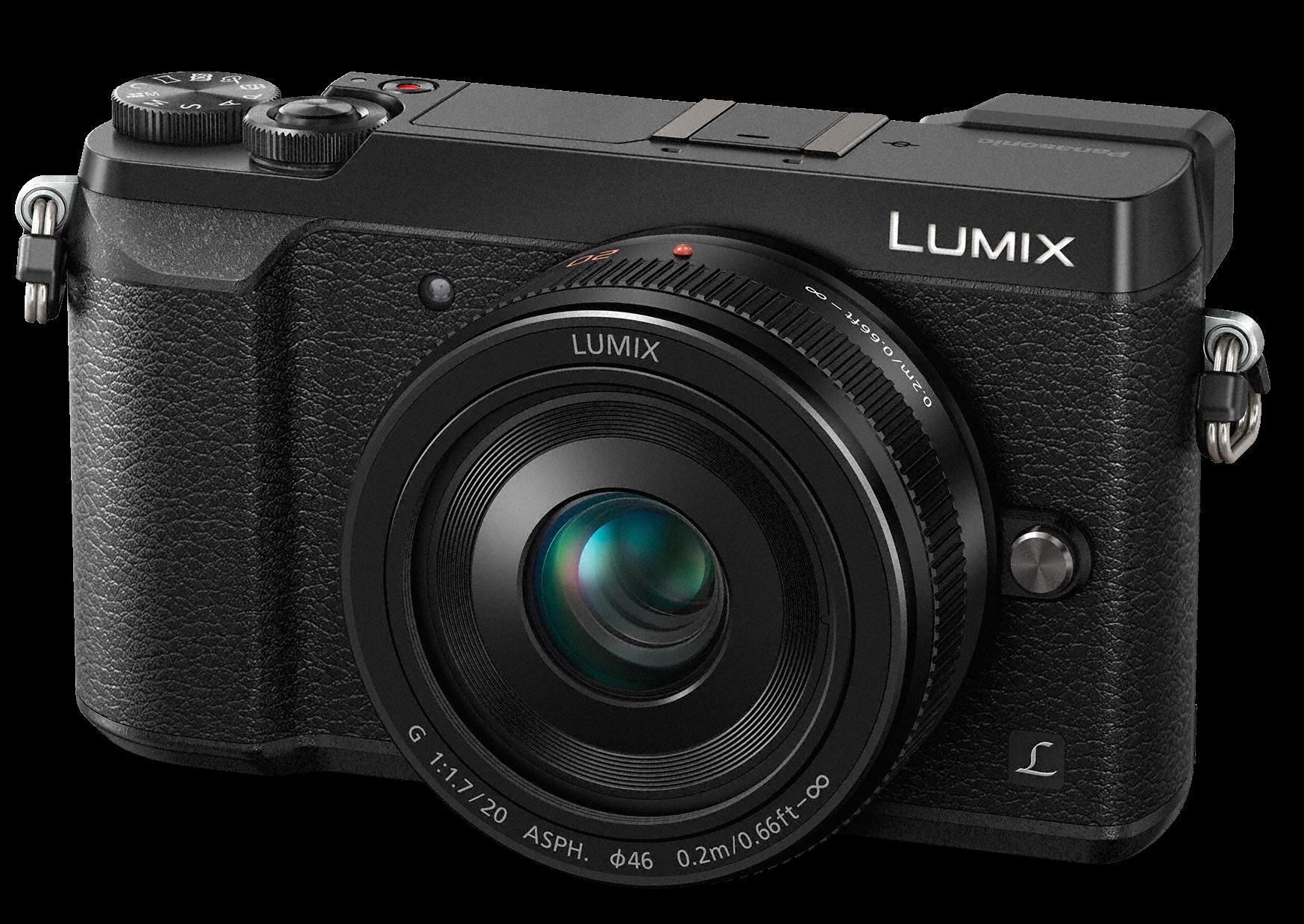 PANASONIC Lumix DMC-GX80 + 20mm černý