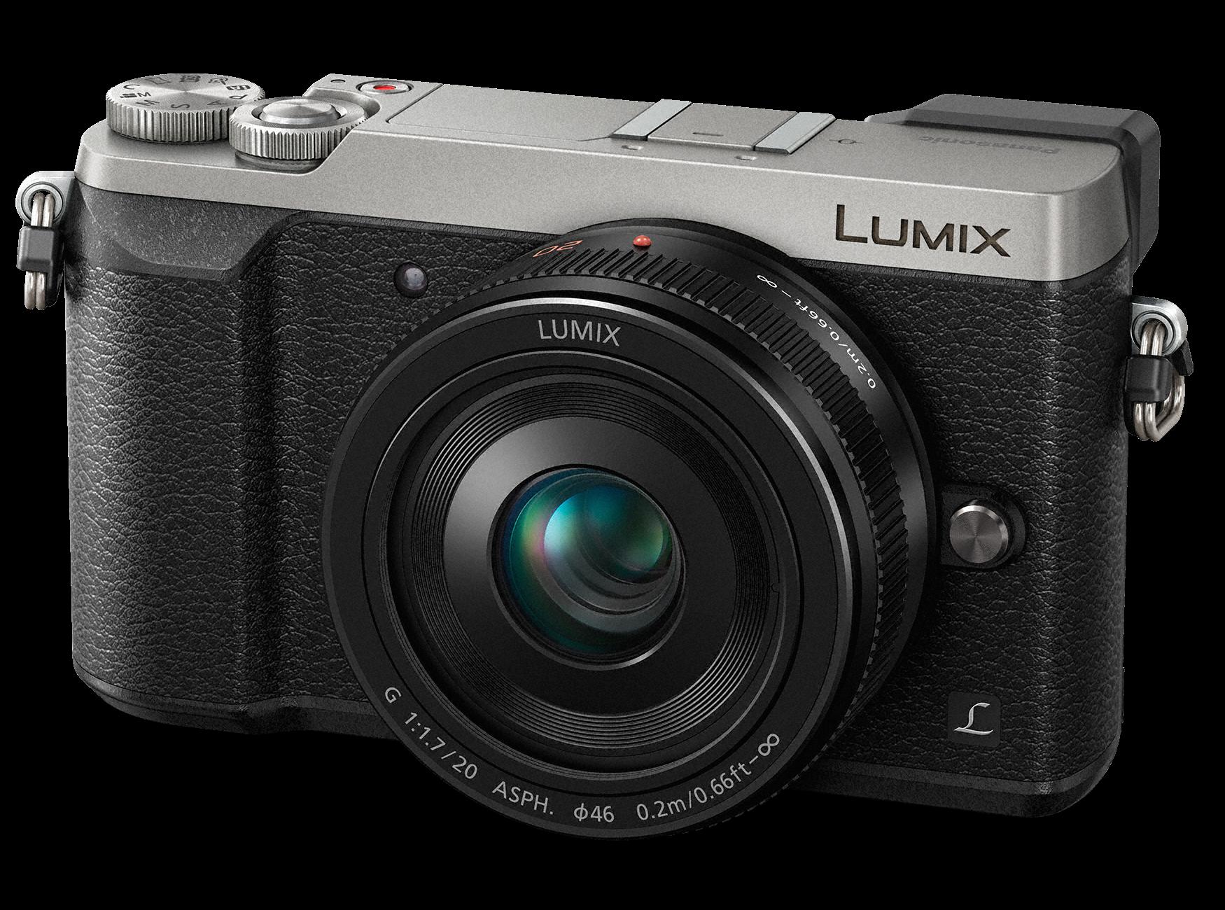 PANASONIC Lumix DMC-GX80 + 20mm stříbrný