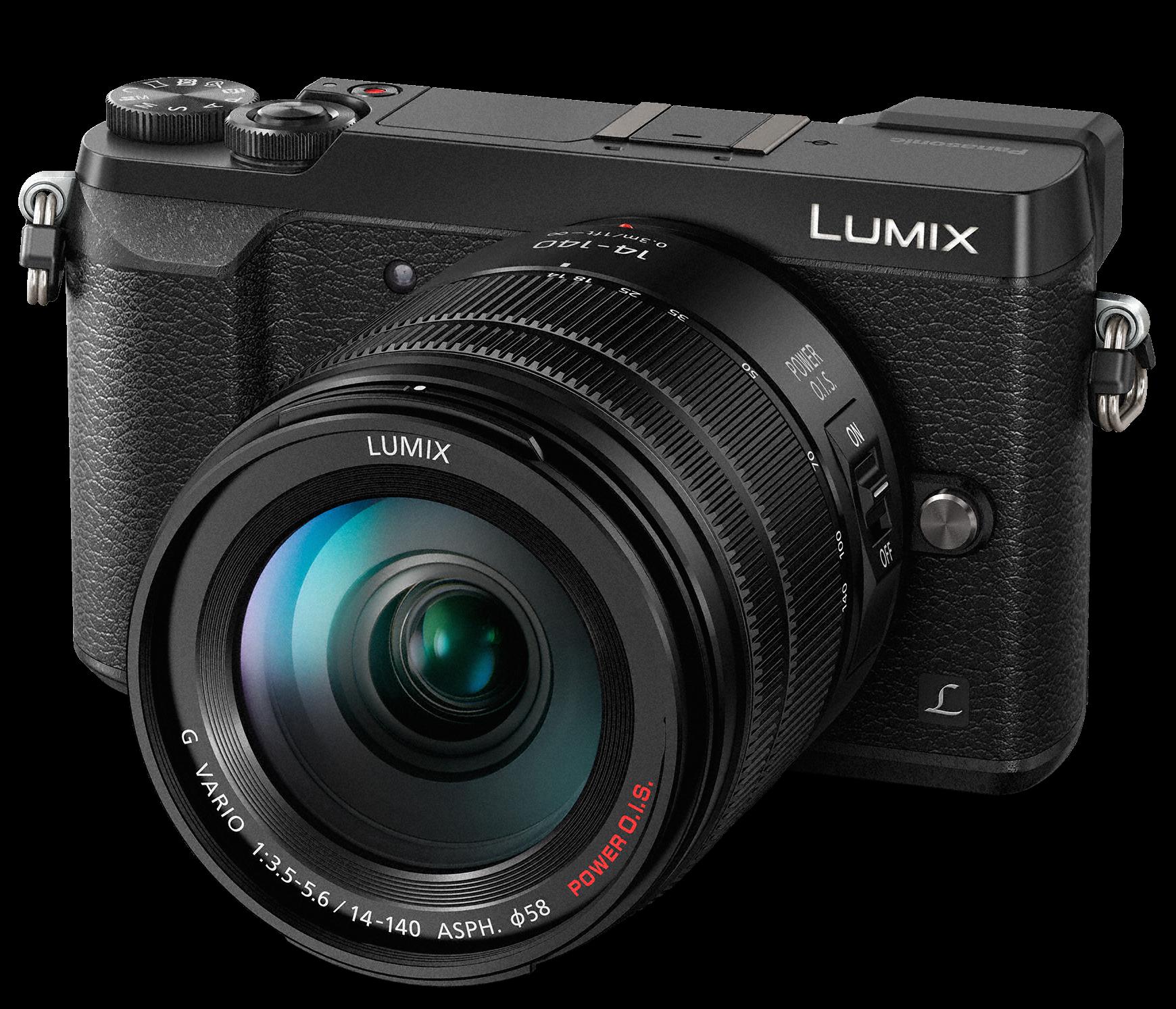 PANASONIC Lumix DMC-GX80 + 14-140mm černý + získejte zpět 2000Kč