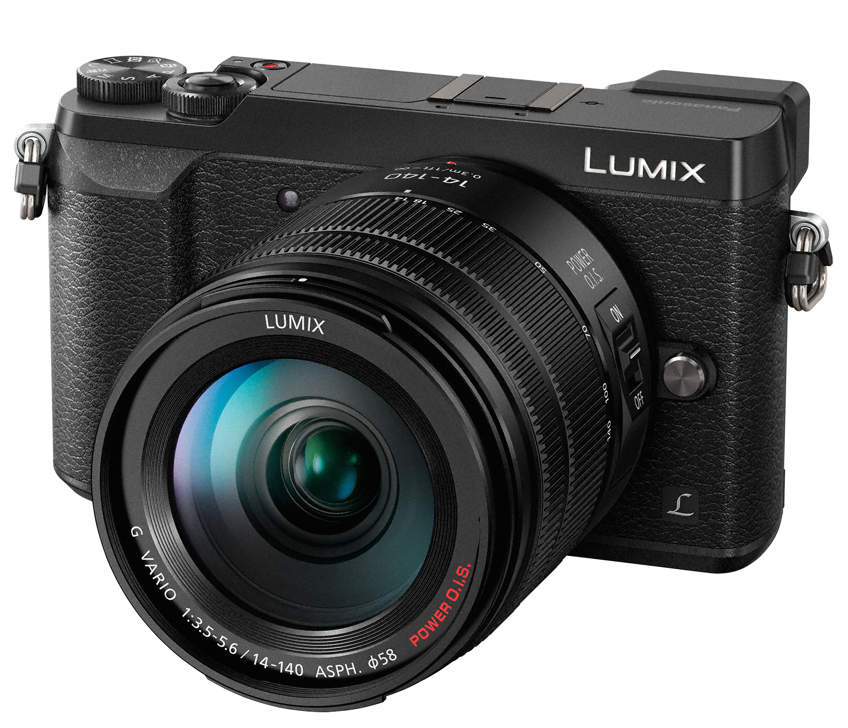 PANASONIC Lumix DMC-GX80 + 14-140mm černý