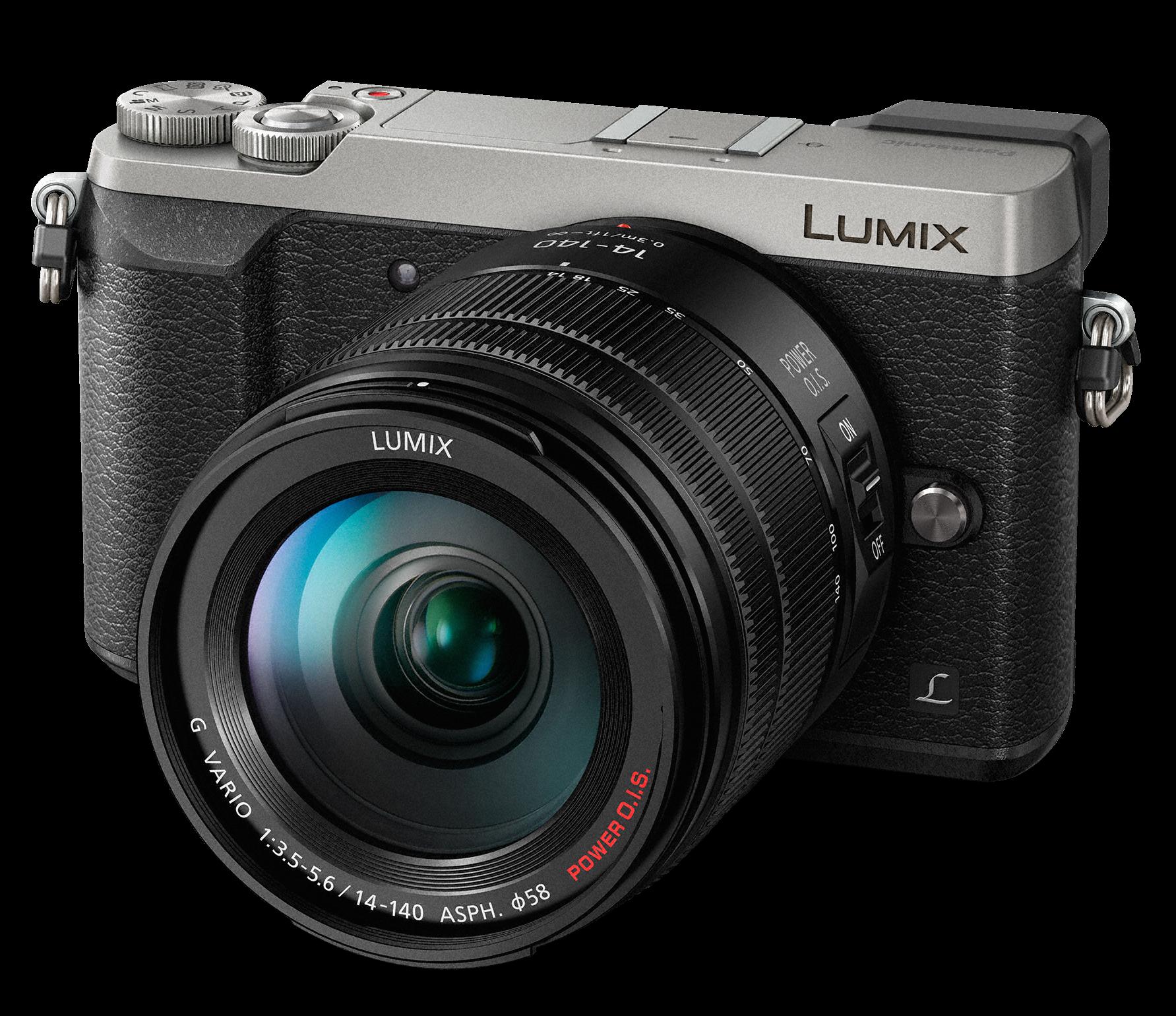 PANASONIC Lumix DMC-GX80 + 14-140mm stříbrný