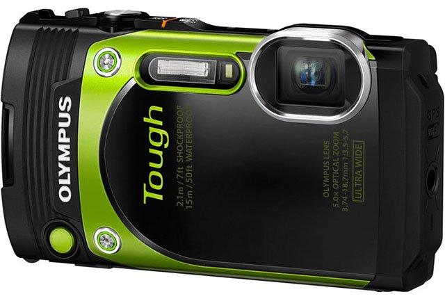 OLYMPUS Stylus TG-870 zelený