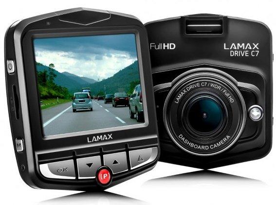 LAMAX DRIVE C7- kamera do auta