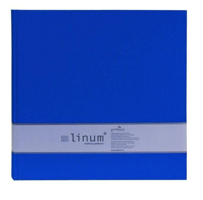 GOLDBUCH LINUM 10x15/200, modrá, popisové pole