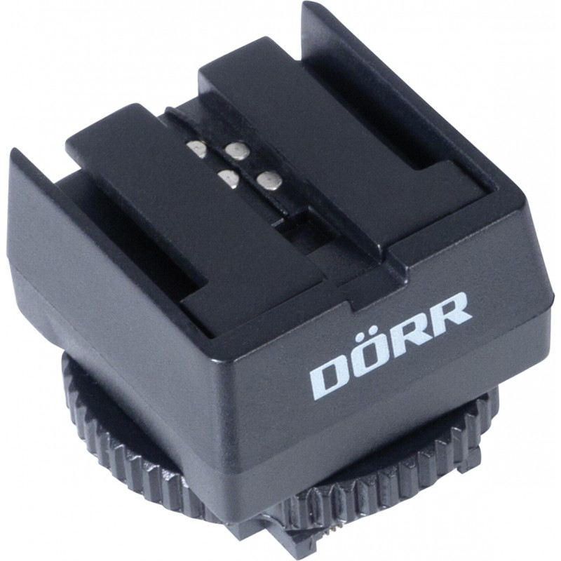DORR adaptér blesku Sony (starší typ sáněk) na sáňky MIS