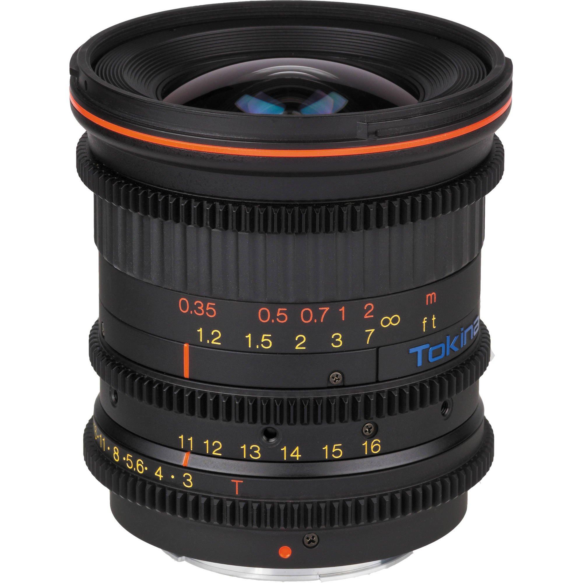 TOKINA 11-16 mm T3 Cinema ATX pro Canon EOS