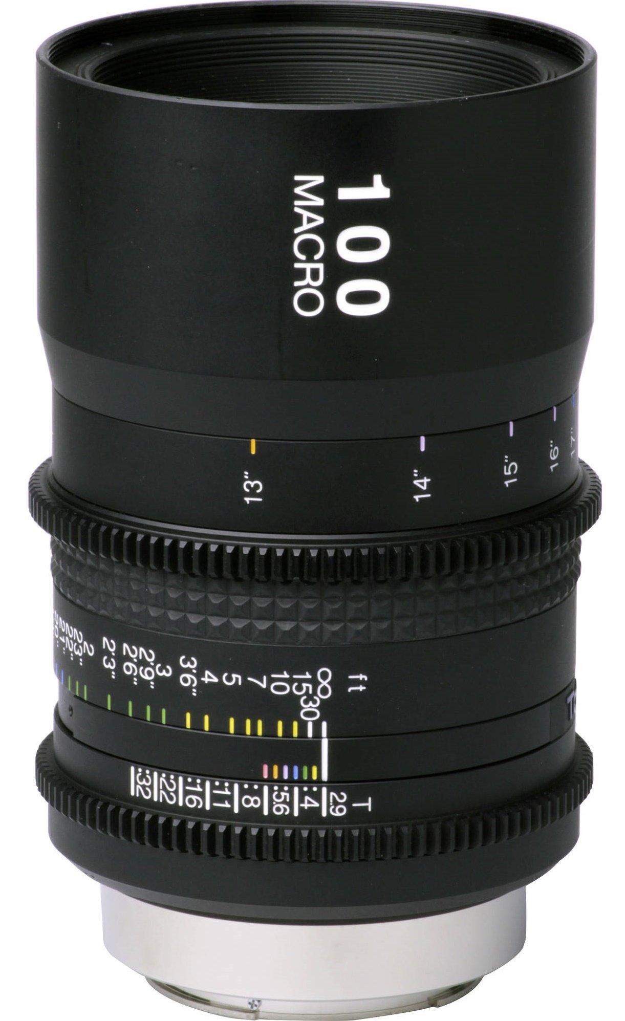 TOKINA 100 mm T2,9 Macro Cinema ATX pro Nikon