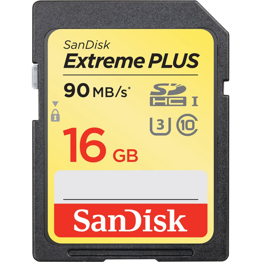 SANDISK SDHC 16GB EXTREME PLUS 90MB/s
