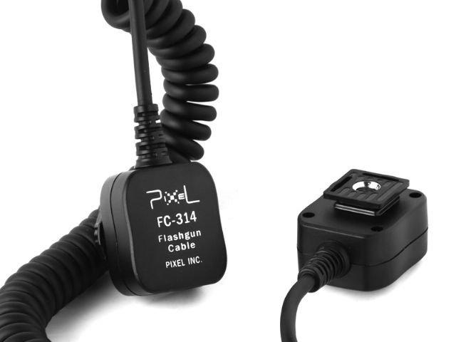 PIXEL propojovací kabel k blesku FC-314 pro Olympus/Panasonic 3,6 m