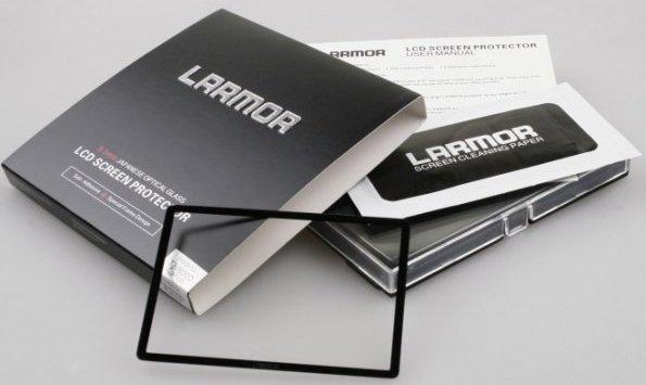 LARMOR ochranné sklo na LCD pro Fujifilm X-T10/20, X30