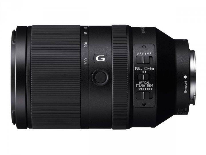 SONY FE 70-300 mm f/4,5-5,6 G OSS pro bajonet E full frame