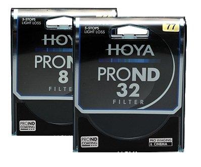 HOYA sada filtrů ND 8x a ND 32x 67 mm