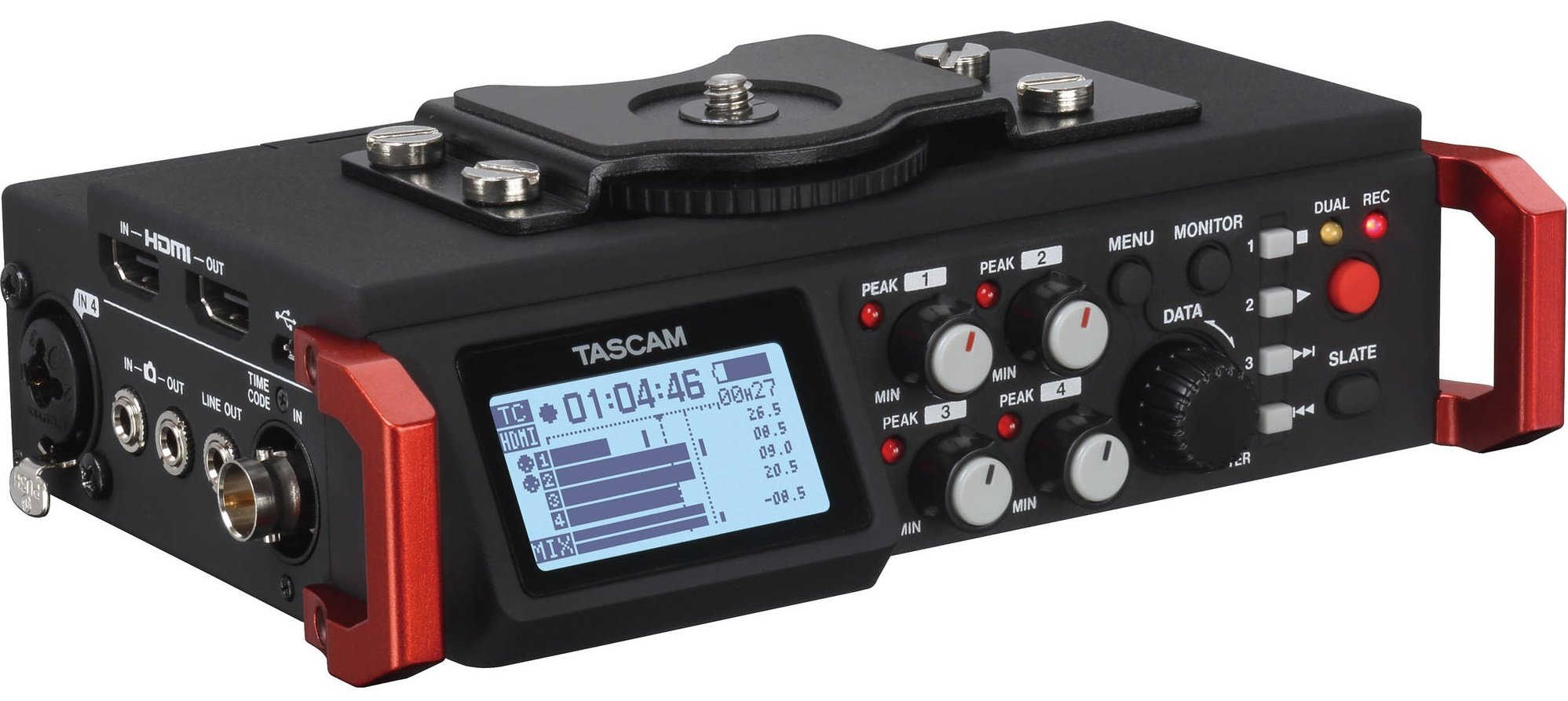 TASCAM DR-701D Šest stopový audio rekordér do terénu