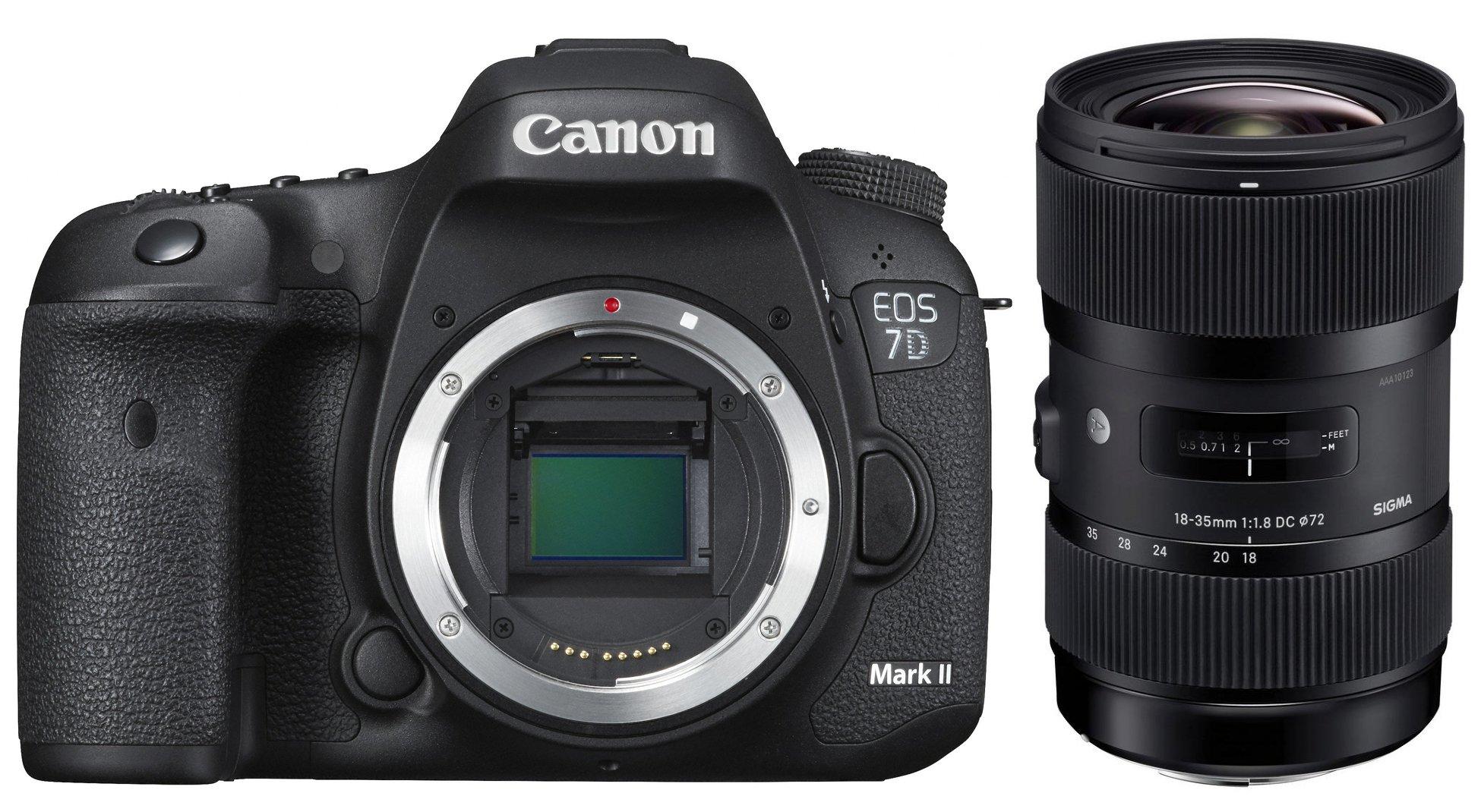 CANON EOS 7D Mark II + SIGMA 18-35 Art + 50-100 Art