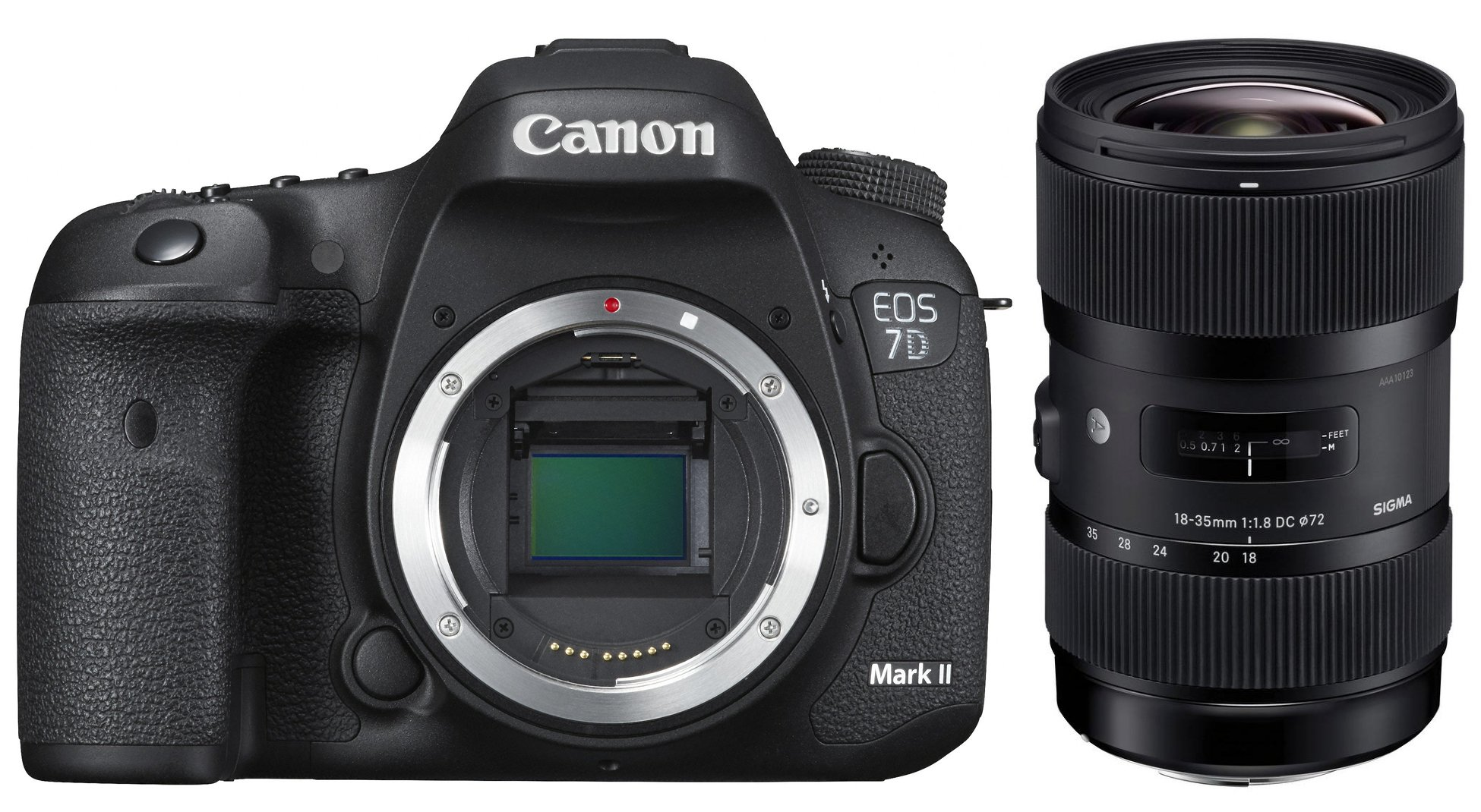 CANON EOS 7D Mark II + SIGMA 18-35 Art