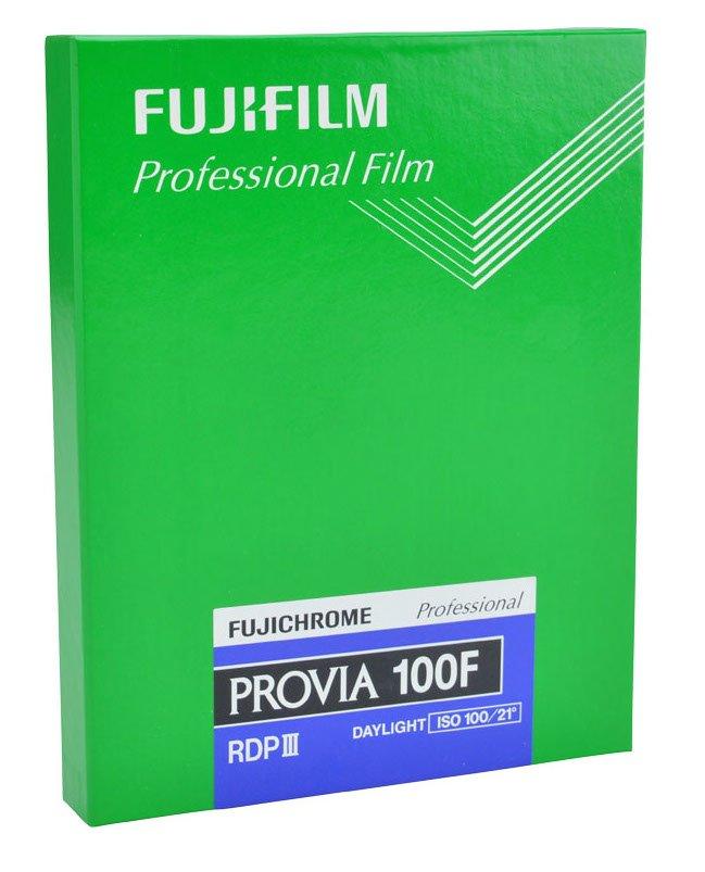 FUJIFILM Provia 100F 20,3x25,4 cm (8x10
