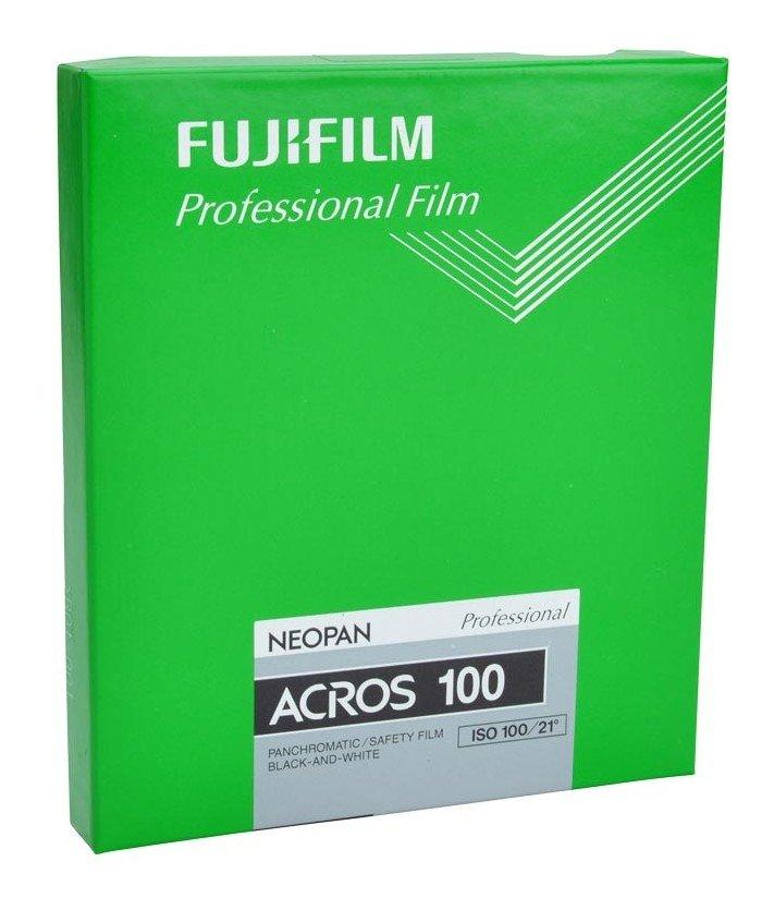 "FUJI Neopan ACROS 100 10,2x12,7 cm (4x5"")/20 listů"