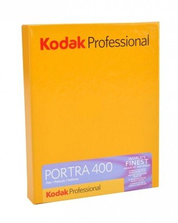 "KODAK Portra 400 10,2x12,7 cm (4x5"")/10 listů"