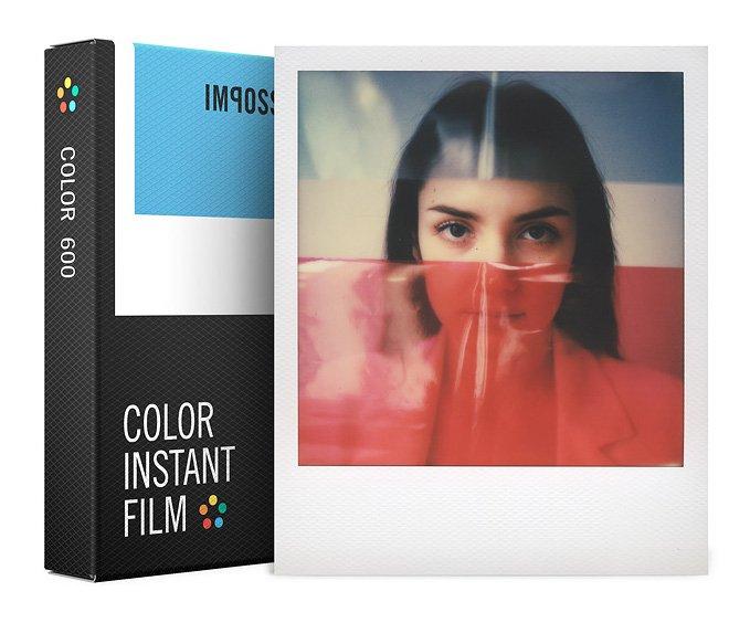 IMPOSSIBLE barevný film pro Polaroid 600/8ks