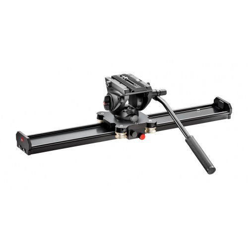 MANFROTTO MVS060AMVH500AH, SET VIDEO SLIDER 60CM a VIDEO hlava 500AH